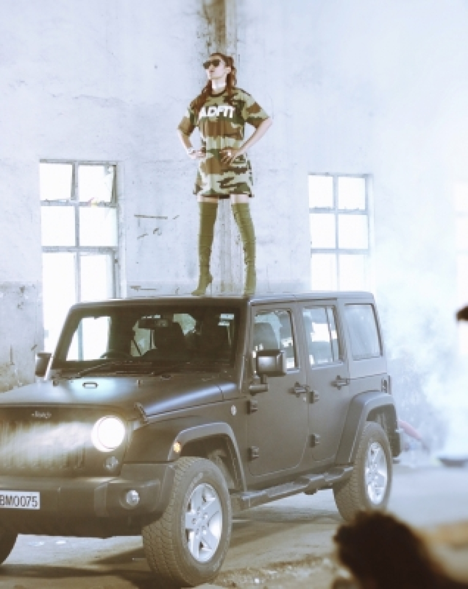 Badshah lends his Jeep for Aastha's song - The Quint