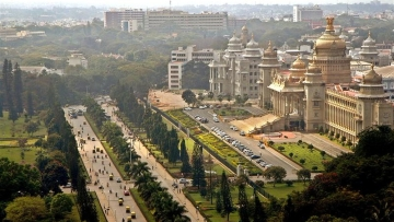 File image of Bengaluru city.