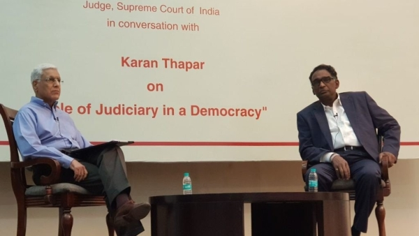In an interaction with veteran journalist Karan Thapar, Justice Chelameswar reaffirmed that he would not take up a post-retirement job from any government.