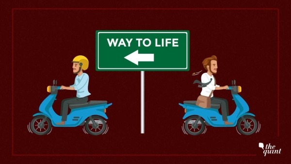 Helping youngsters overcome the 'it won't happen to me' syndrome is key to lower two-wheeler accidents in India.
