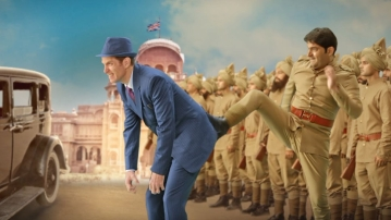 Kapil Sharma in a still from <i>Firangi.</i>