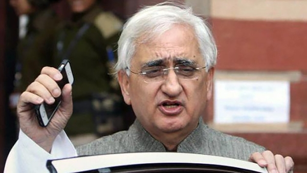 Congress leader and former External Affairs Minister Salman Khurshid.