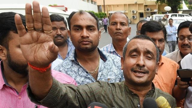 BJP MLA from Unnao Kuldip Singh Sengar is accused of raping an 18-year-old-girl.