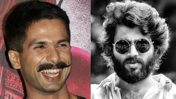 Shahid Kapoor will step into Vijay Deverakonda's (right) shoes for the Hindi remake of <i>Arjun Reddy</i>.