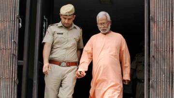 Mecca Masjid blast accused Swami Aseemanand was acquitted on 16 April.