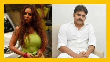Sri Reddy and Pawan Kalyan are at loggerheads.