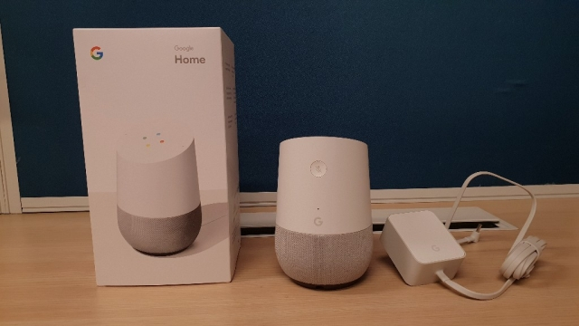 Google Home smart home speaker launched in India in early 2018.