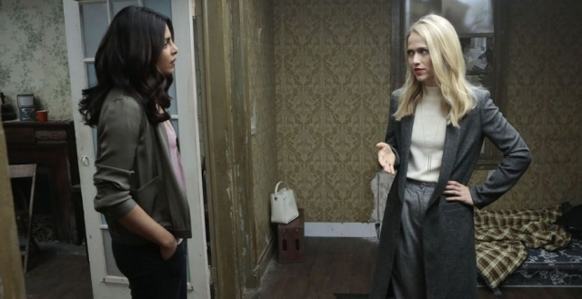 Alex Parrish and Shelby in the earlier season of <i>Quantico.</i>