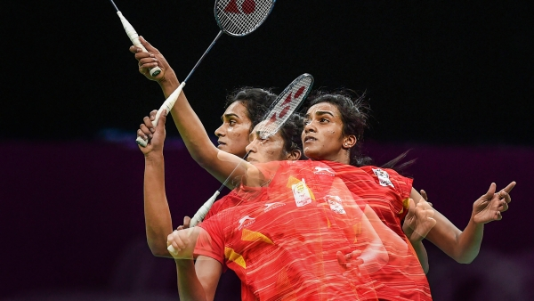 PV Sindhu settled for silver in the women's singles event at the 2018 CWG.