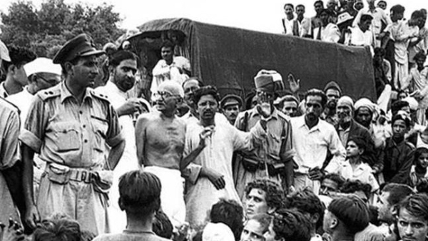 The Champaran Satyagraha in Bihar in April 1917 yoked the peasant unrest to the freedom struggle.