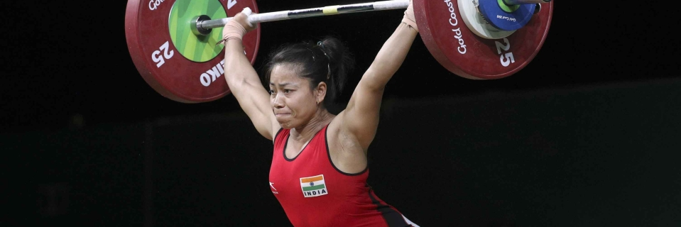 Image result for Commonwealth Games 2018: Weightlifter Sanjita Chanu clinches India's second gold