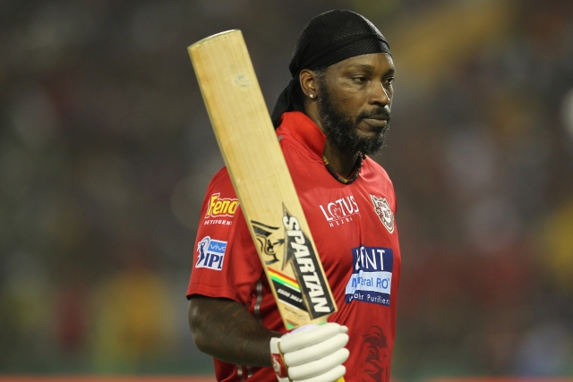 Chris Gayle smashed 63 runs off 33 balls against Chennai Super Kings.