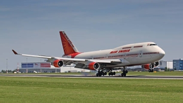 File image of an Air India flight.
