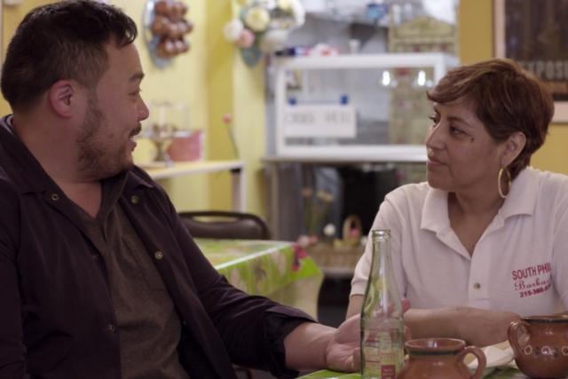 David Chang and Cristina Martinez on Ugly Delicious.