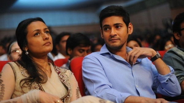 Namrata Shirodkar and her husband, Mahesh Babu.