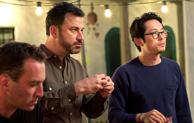 Jimmy Kimmel and a host of other stars appear on <i>Ugly Delicious</i>.