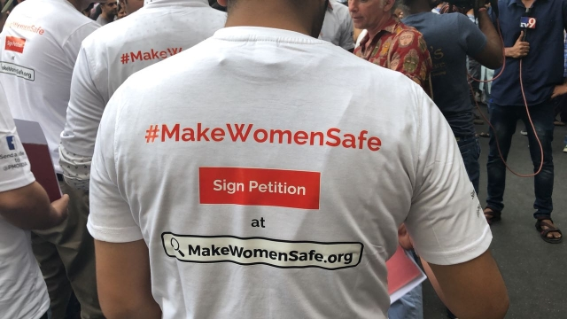 A plea to 'Make Women Safe'.