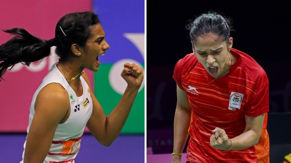 PV Sindhu will face Saina Nehwal for the gold medal on Sunday.