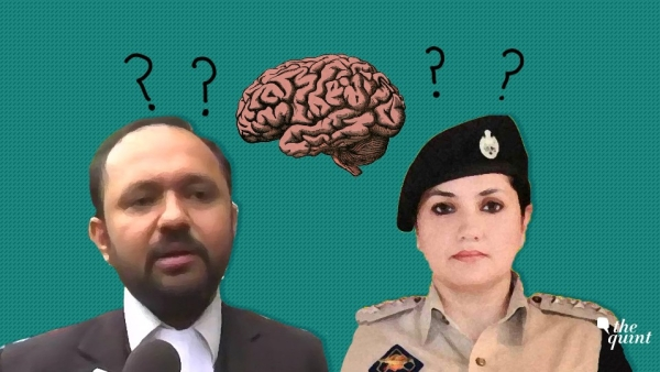 Help! Defence lawyer Ankur Sharma, who questioned the 'intelligence' of Shwetambari Sharma, Deputy Superintendent of Police, Crime Branch, J&K Police needs more sexist questions in his arsenal.