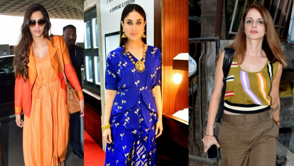 Sonam and Kareena Kapoor and Sussanne Khan beat the heat in style.