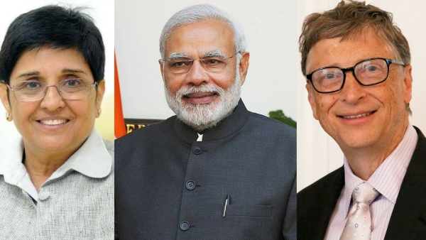 India votes for the top 10 most admired people across the world.