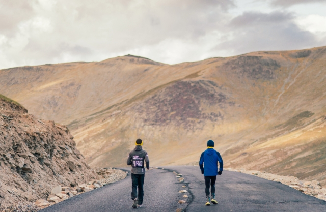 La Ultra is 333 km long foot race in the cold desert of Ladakh.
