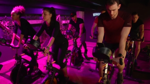 The gym's spin bikes are built to harness peddle power, generating energy that'll be put back into the local grid.
