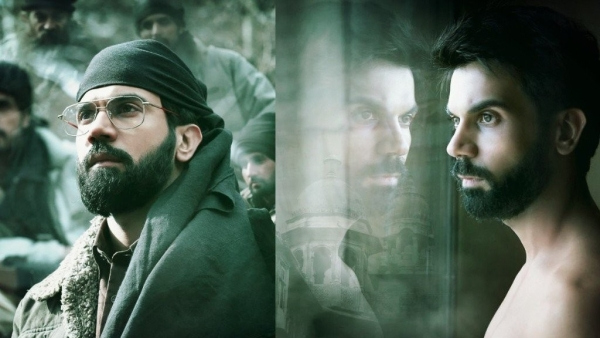 Rajkummar Rao in <i>'Omerta'. (Source: Facebook/Altered by The Quint)</i>