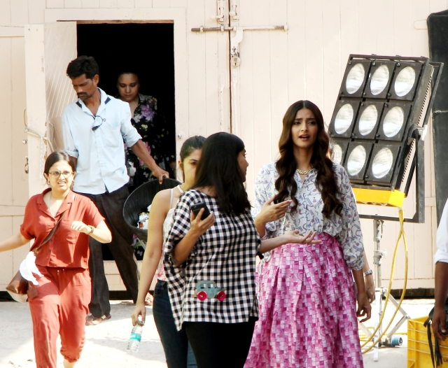 Sonam is currently busy wrapping up the shoot for her home production <i>Veere Di Wedding.</i>