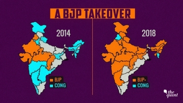 With Karnataka, the BJP is dominant in 23 states, either by itself or as part of an alliance.