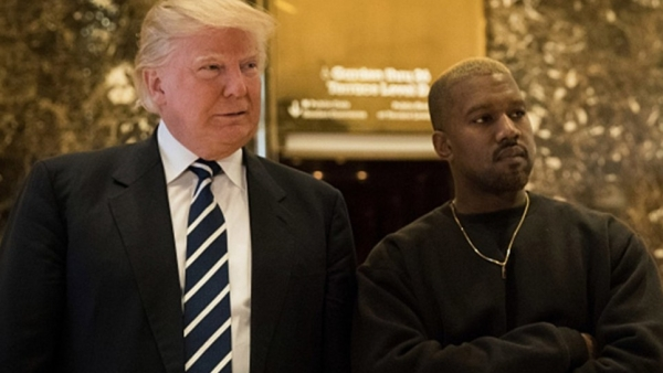 Rapper Kanye West has been tweeting out support for US president Donald Trump.