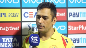 MS Dhoni captained Chennai Super Kings to their third IPL win.
