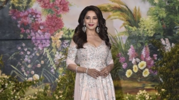 There were reports that Madhuri Dixit would be contesting in the Lok Sabha elections.