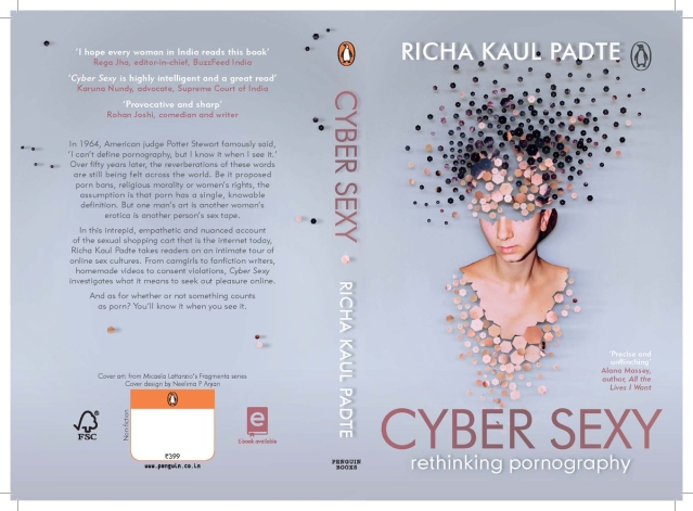 The <i>Cyber Sexy</i> book cover.&nbsp;