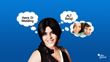 After TV, Ekta Kapoor is into digital but she's not letting go of producing films just yet.