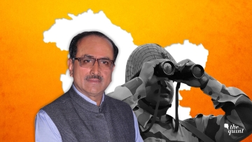 Former Deputy Chief Minister of Jammu and Kashmir Nirmal Singh.