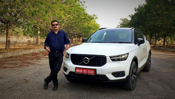 The Volvo XC40 was first launched in the R-Design trim in India.