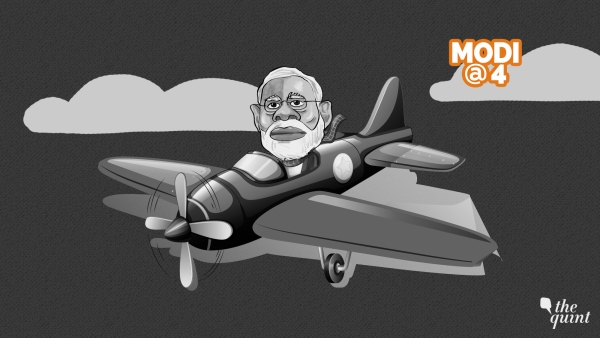 Did Modi's Honeymoon Travels Bring India Frequent Flyer Miles?