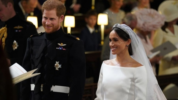 Prince Harry and Meghan Markle tied the knot on 19 May, 2018.