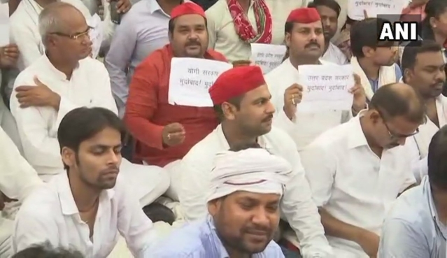 Samajwadi Party demands high-level investigations.