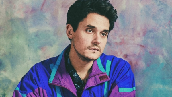 Poster from John Mayer's new album.