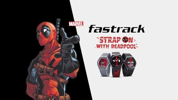 These Badass Deadpool Watches by Fastrack Are Pure Awesomesauce