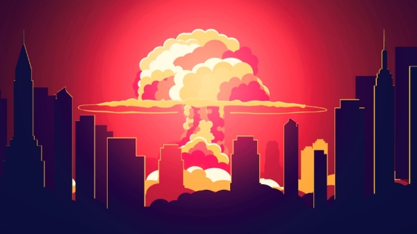 Stylised nuclear explosion. Image used for representational purposes.