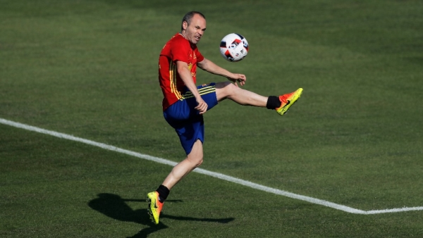 Iniesta gears up for his last World Cup after having a successful outing with Barcelona this season.