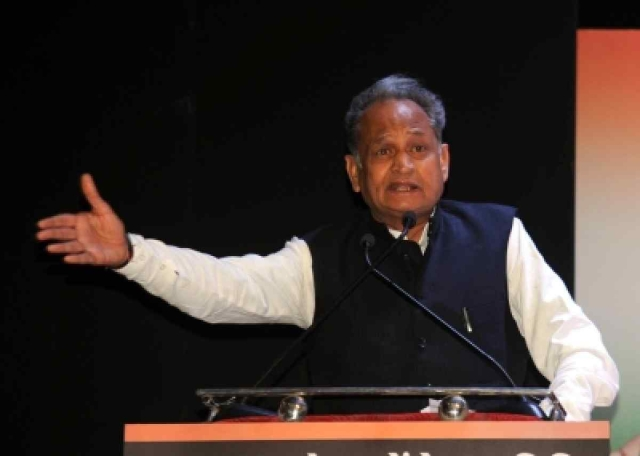 Ashok Gehlot, former Chief Minister Rajasthan and member of the Indian National Congress party.