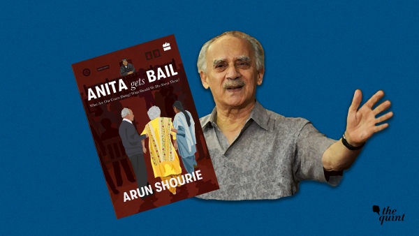Arun Shourie and his new book, <i>Anita Gets Bail</i>