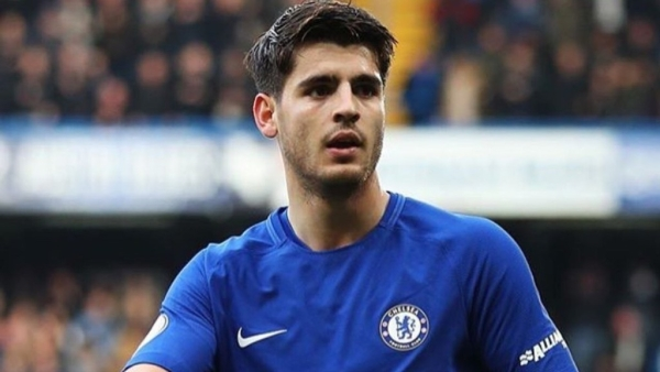 File picture of Alvaro Morata
