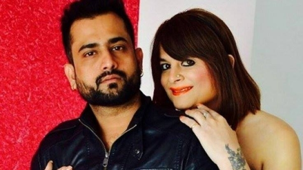 Bobby Darling with Ramneek Sharma in happier times.