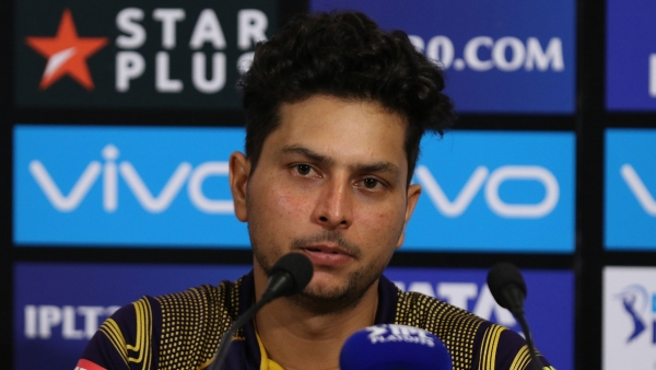 Kuldeep Yadav speaks to the media after Kolkata Knight Riders beat Rajasthan Royals in the eliminator match.