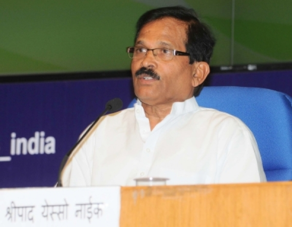 Union Minister of State for AYUSH and Health & Family Welfare Shripad Yesso Naik. (Photo: IANS/PIB)